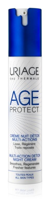 uriage-age-protect-detox-ejszakai-ranctalanito-krem-40ml